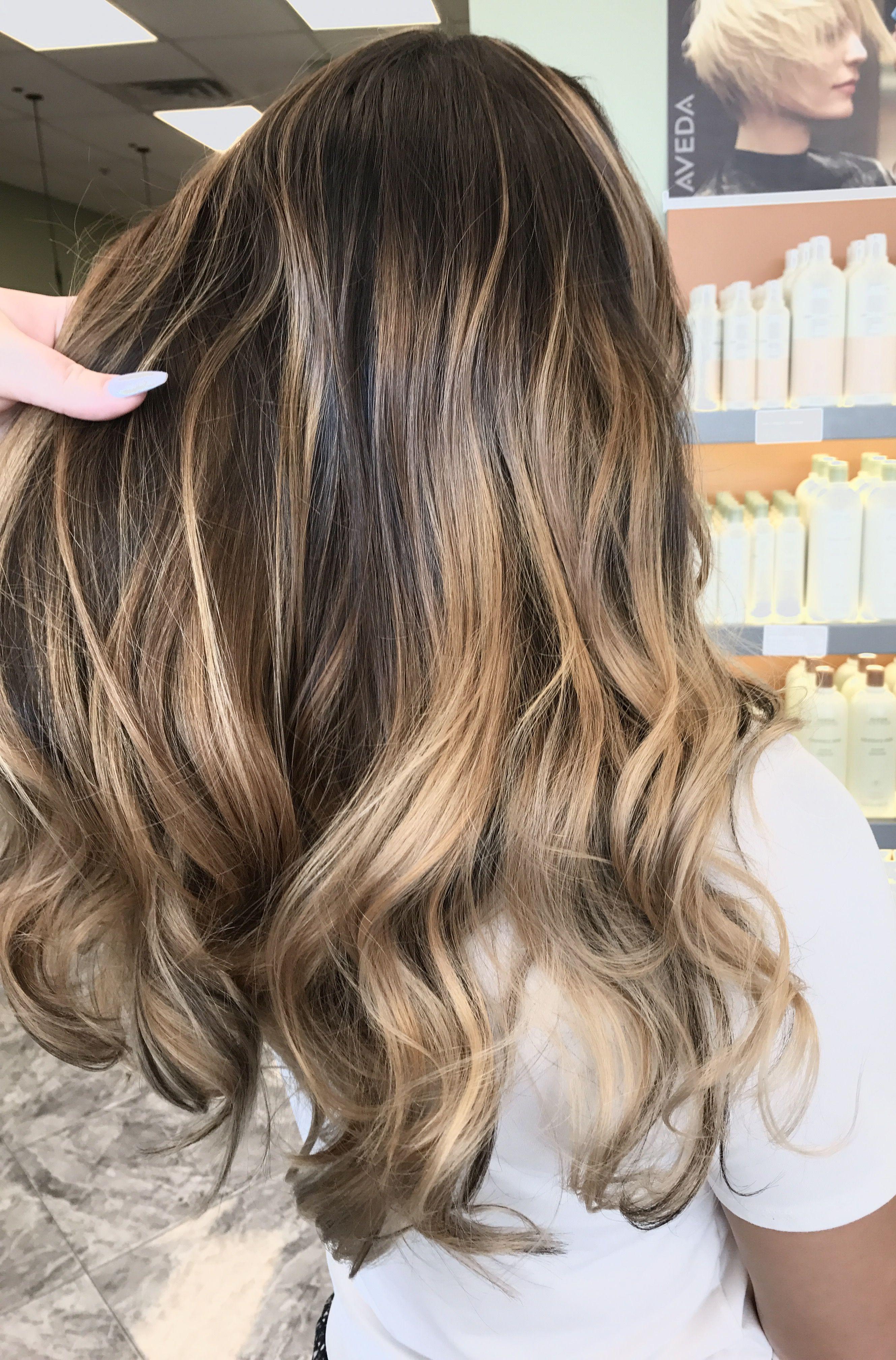 Caramel balayage #hairbyashcha #caramelbalayage | Hair ...