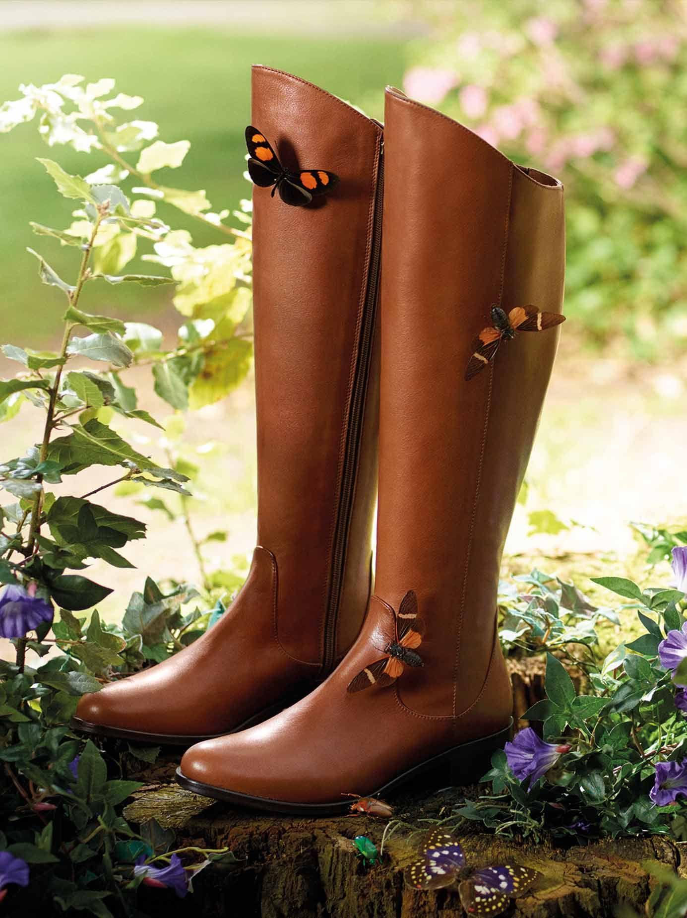 46f9ae24e03 Huntsman tan leather boots