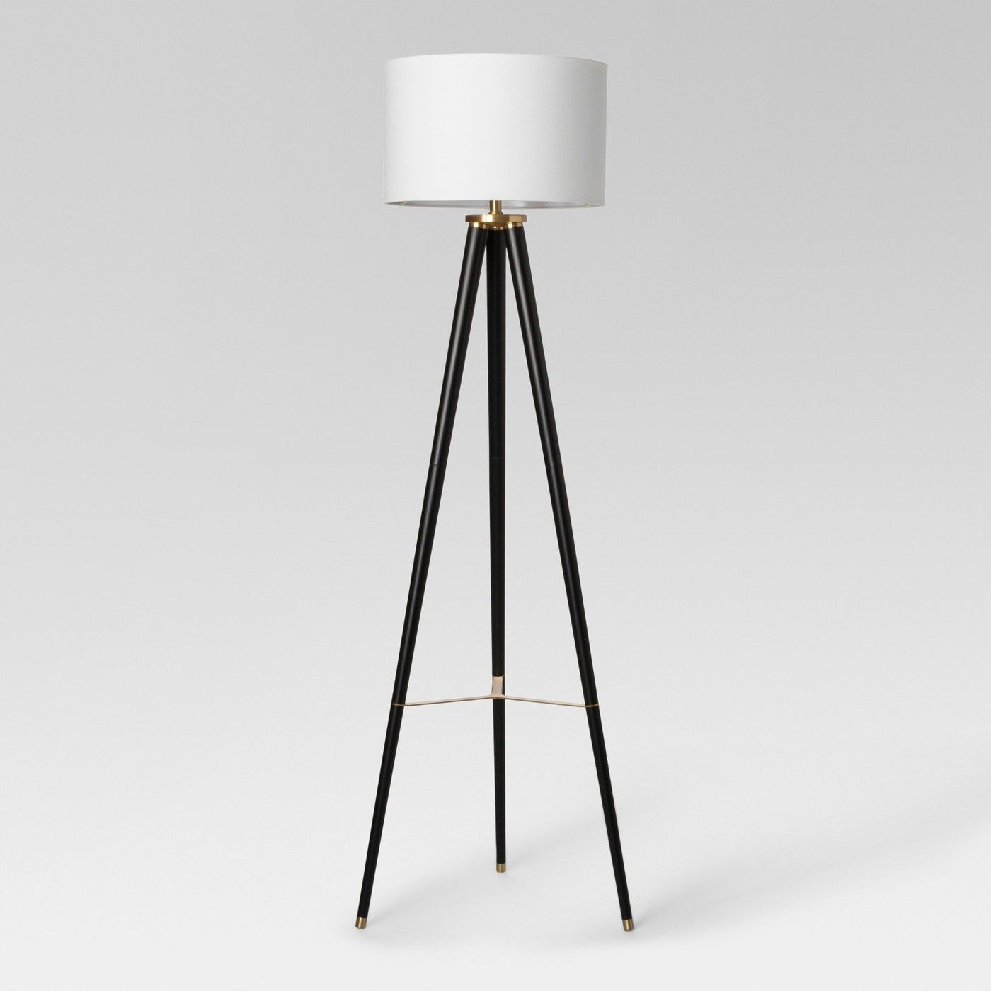 Delavan Tripod Floor Lamp Black Project 62™ Black