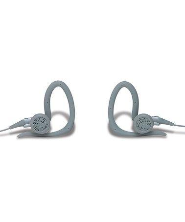 Loving this Gray sportCLIPS Headphones on #zulily! #zulilyfinds
