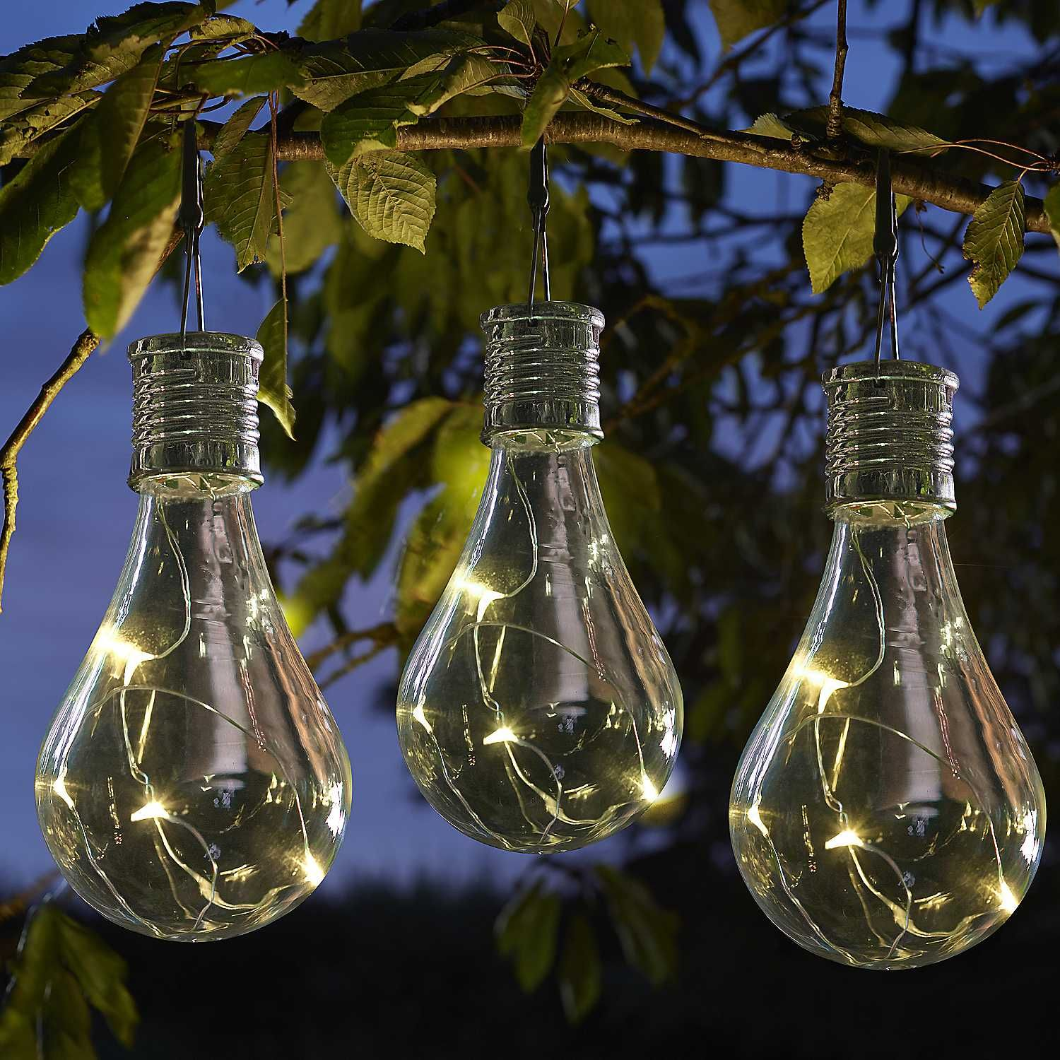 Solar Powered Eureka Light Bulb Pack Of Six Solar Light Bulb