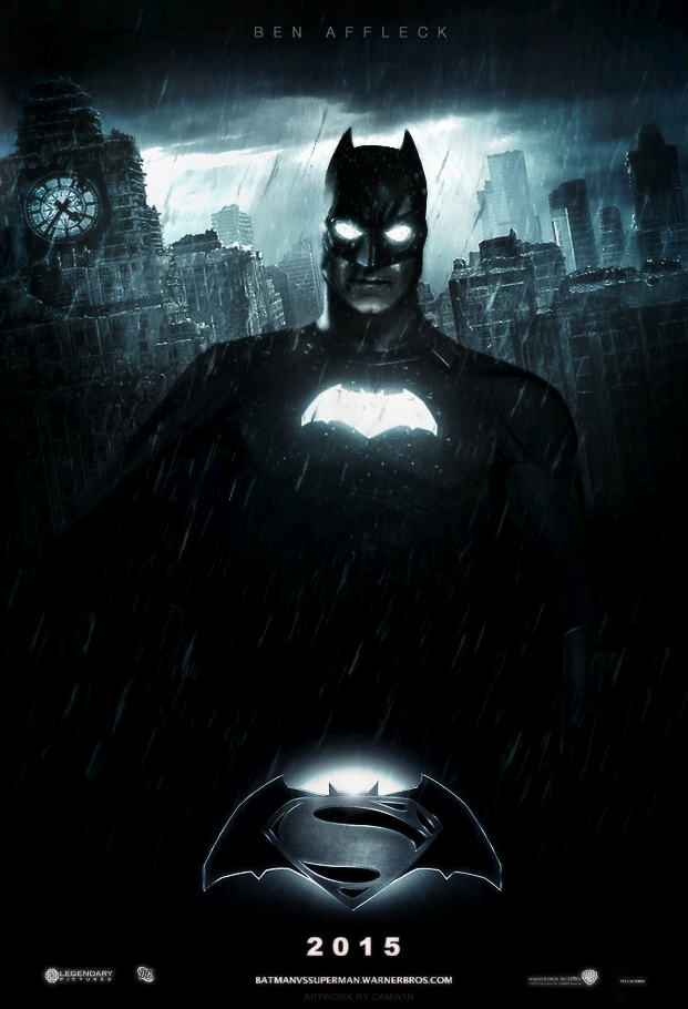 Awesome Batman Superman Movie Poster Hd Vs Teaser 1 By CAMW1N On DeviantART