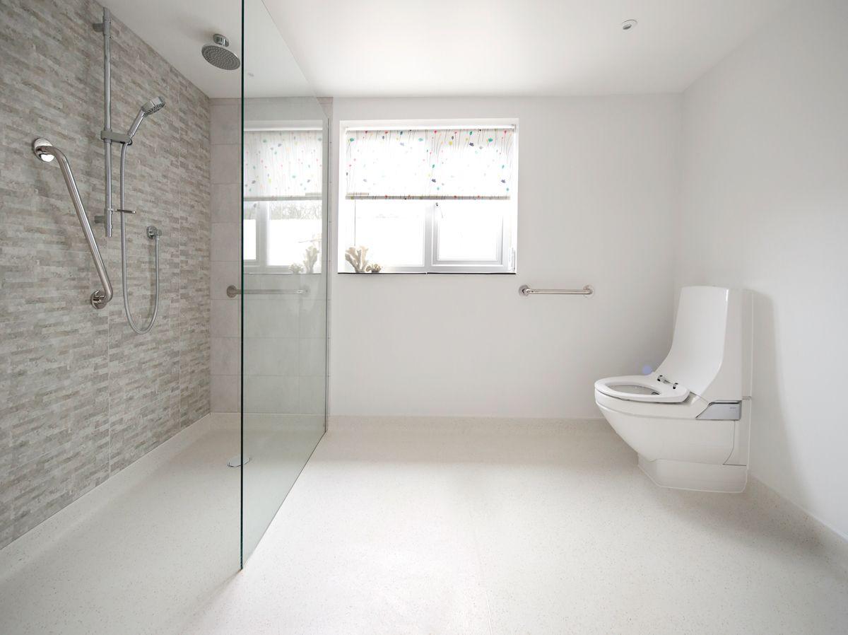 Altro Aquarius Wet Room Vinyl Flooring Altro Wet Room Flooring Vinyl Flooring Bathroom Disabled Wet Room
