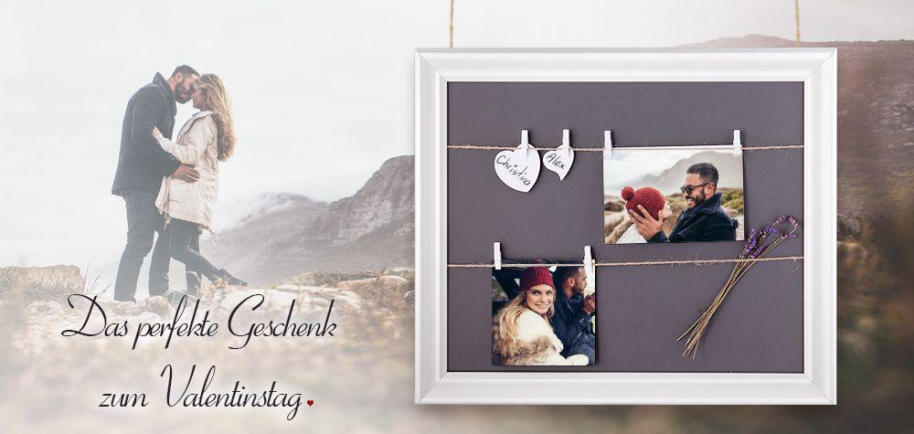 das perfekte geschenk zum valentinstag der rahmen mit schnur und klammern setzt ihre fotos. Black Bedroom Furniture Sets. Home Design Ideas
