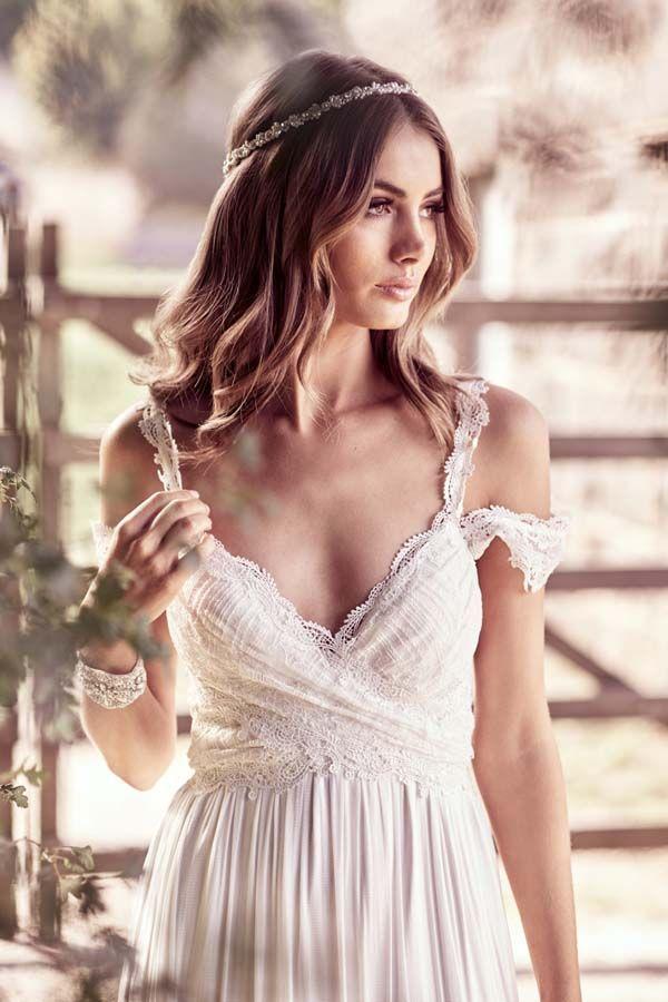 a15c8d837 Vestido de novia Mia de Anna Campbell | Anna Campbell en Blanco de ...