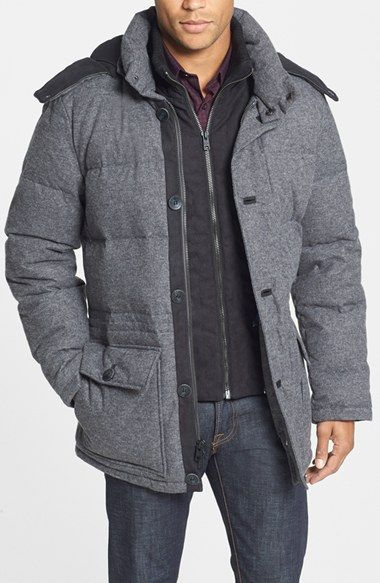 Vince Camuto Quilted hooded anorak - 30% off http://rstyle.me/n/ubgsznyg6