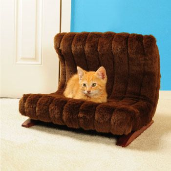 Fantasy Furniture Modern Faux Mink Pet Bed 109 99 Petco
