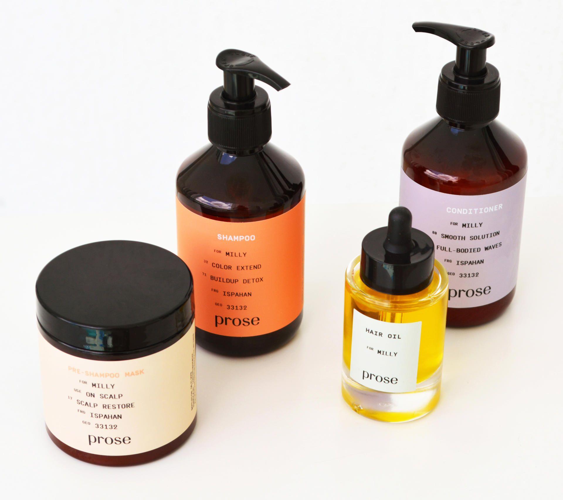 Review Hair care, Purifying shampoo, Hair oil