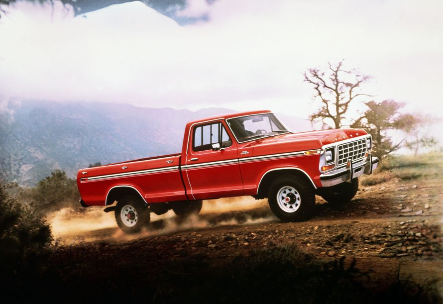 1978 Ford Truck 1978 Ford F150 Ranger Red Ford Pickup Trucks