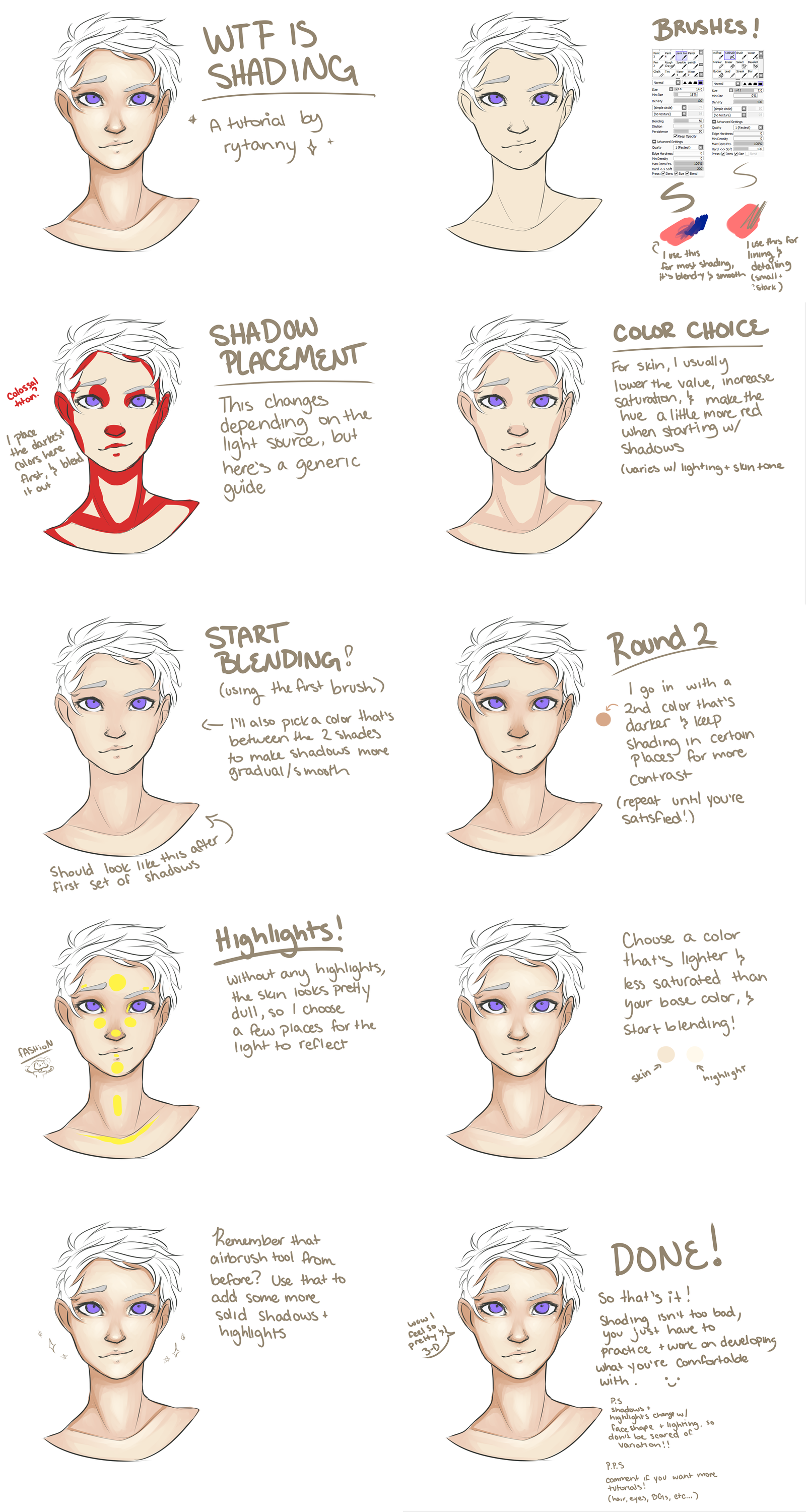 Wtf Is Shading How To Shade Skin By Rytanny In