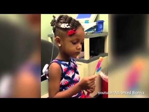 Что чувствуют глухонемые люди, когда впервые слышат мир