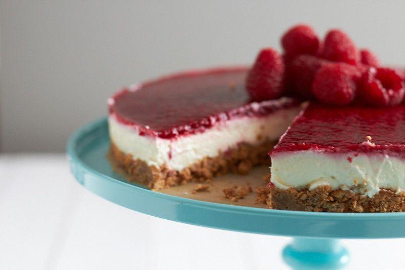 Himbeer Kasetorte Ganz Ohne Zu Backen Tastesheriff Rezept Nachtisch Rezepte Kuchen Ohne Backen Kuchen Und Torten Rezepte