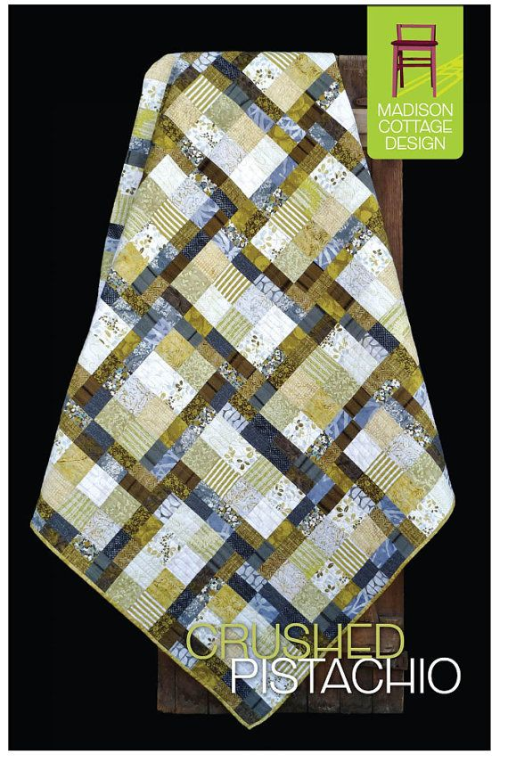 Jelly Roll//Strip Friendly! Kiwi Conserve pattern by Madison Cottage Design