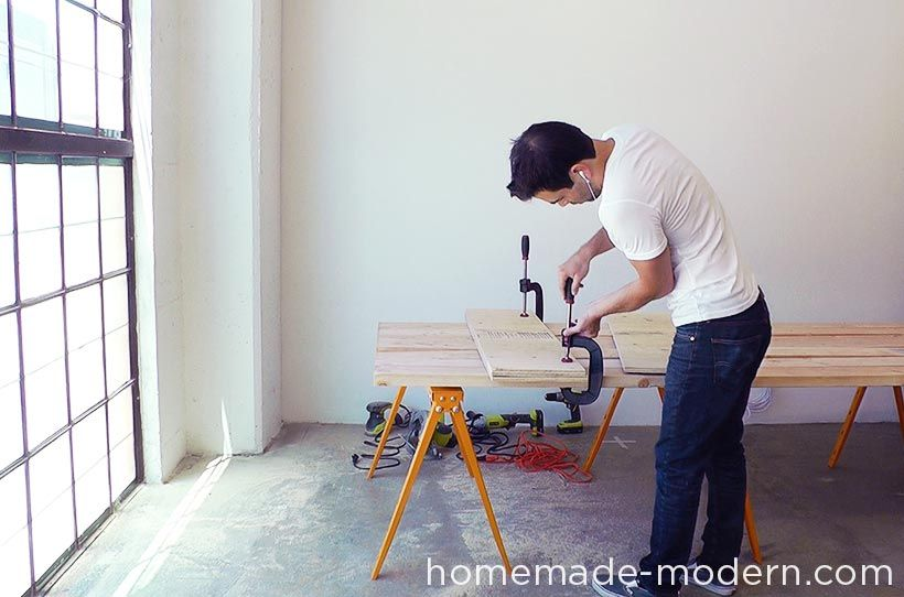 HomeMade Modern DIY EP Conference Table Step For The Home - Homemade conference table