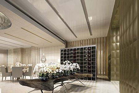 w residences | Rocco Yim, Yabu Pushelberg design W Guangzhou in China