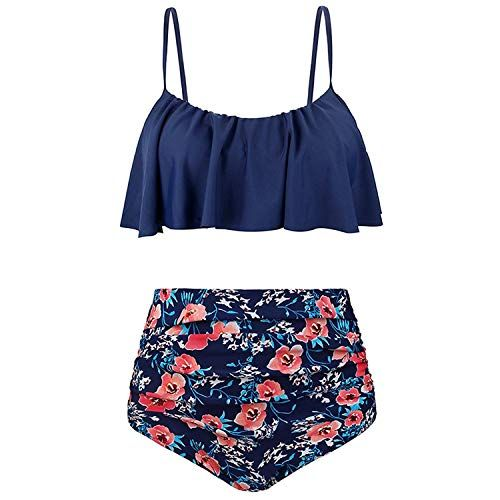 0500190b6a 2Pcs Mommy and Me Matching Family Swimsuit Ruffle Women Swimwear Kids  Children Toddler Bikini Bathing Suit Beachwear Sets in 2019 | Matte | Mommy,  ...