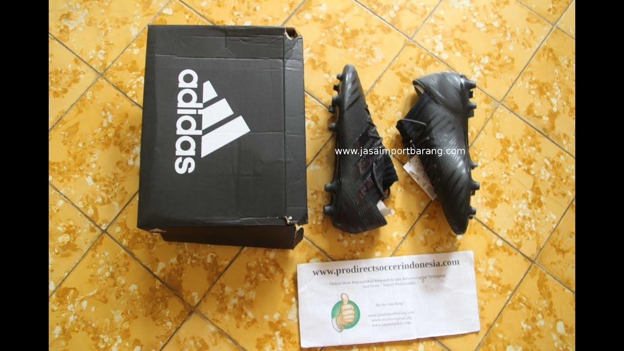 Sepatu Bola Adidas Nemeziz 17 3 Fg Core Black S80600 Original