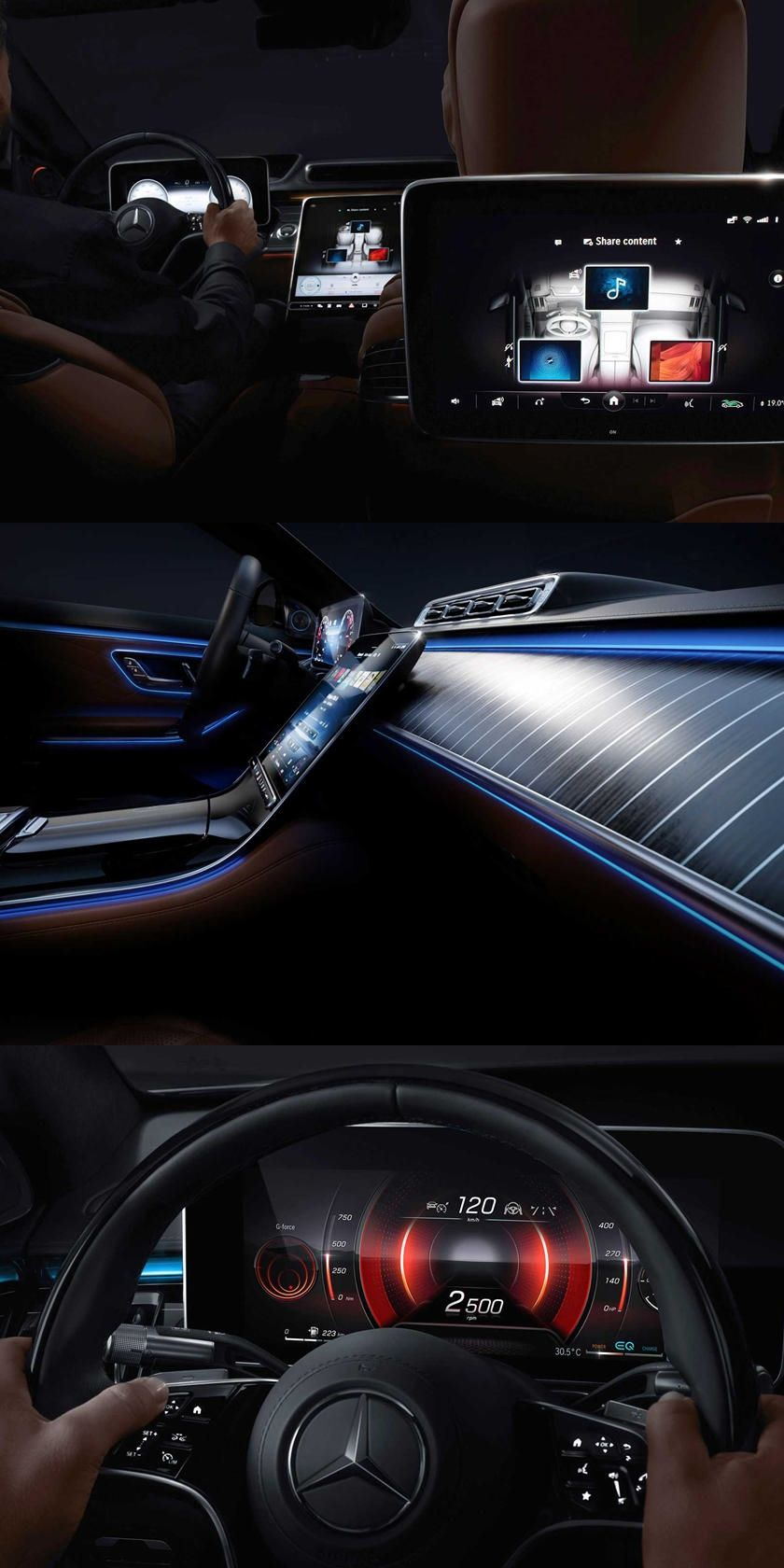 2021 Mercedes S Class Interior Shown In Full There S Even Heated Cushions On The Rear Seats In 2020 Mercedes S Class Interior Mercedes S Class S Class