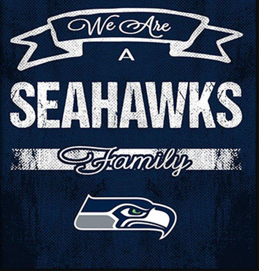 Seattle Seahawks Family Cheer Framed Art | NFC Football Families ...