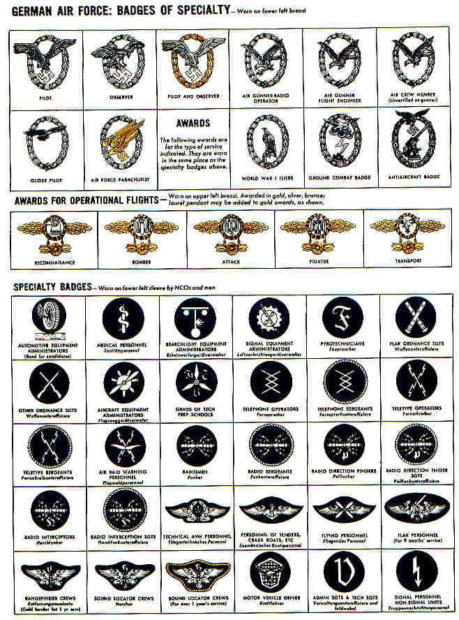 german air force abzeichen