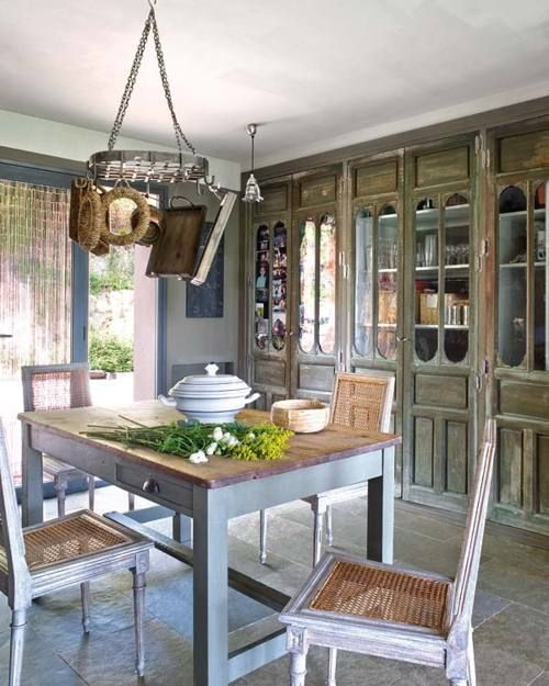 ysvoice ♕ greige country kitchen by greigedesign via