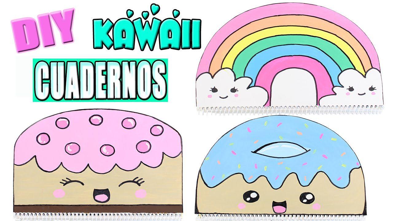 Portadas Para Cuadernos Decora Tus Libretas Con Dibujos: Caratulas Kawaii Para Cuadernos