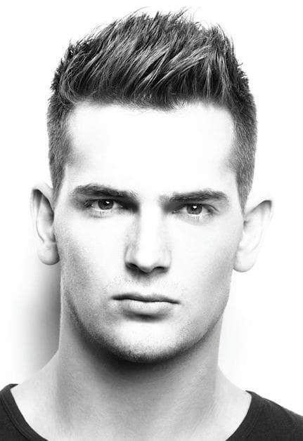 Spiky Hairstyles Best Short Spiky Hairstyles For Men 4Min  Hairstyles  Pinterest