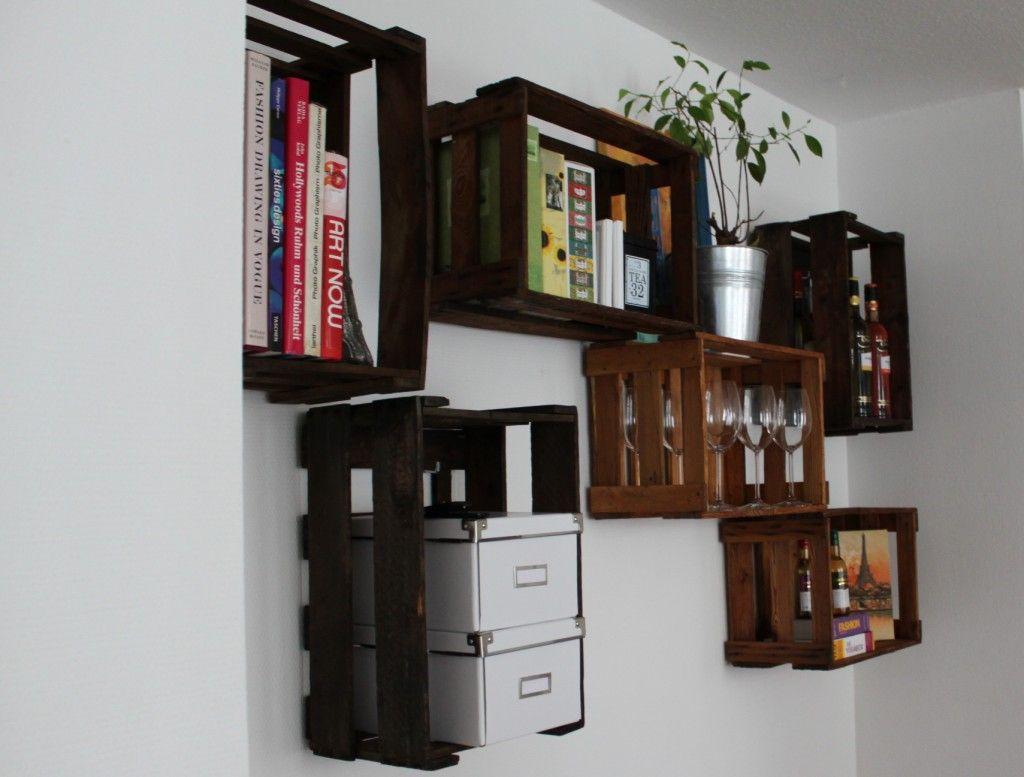 Wine Box Wall Decoration Wood Inspiration