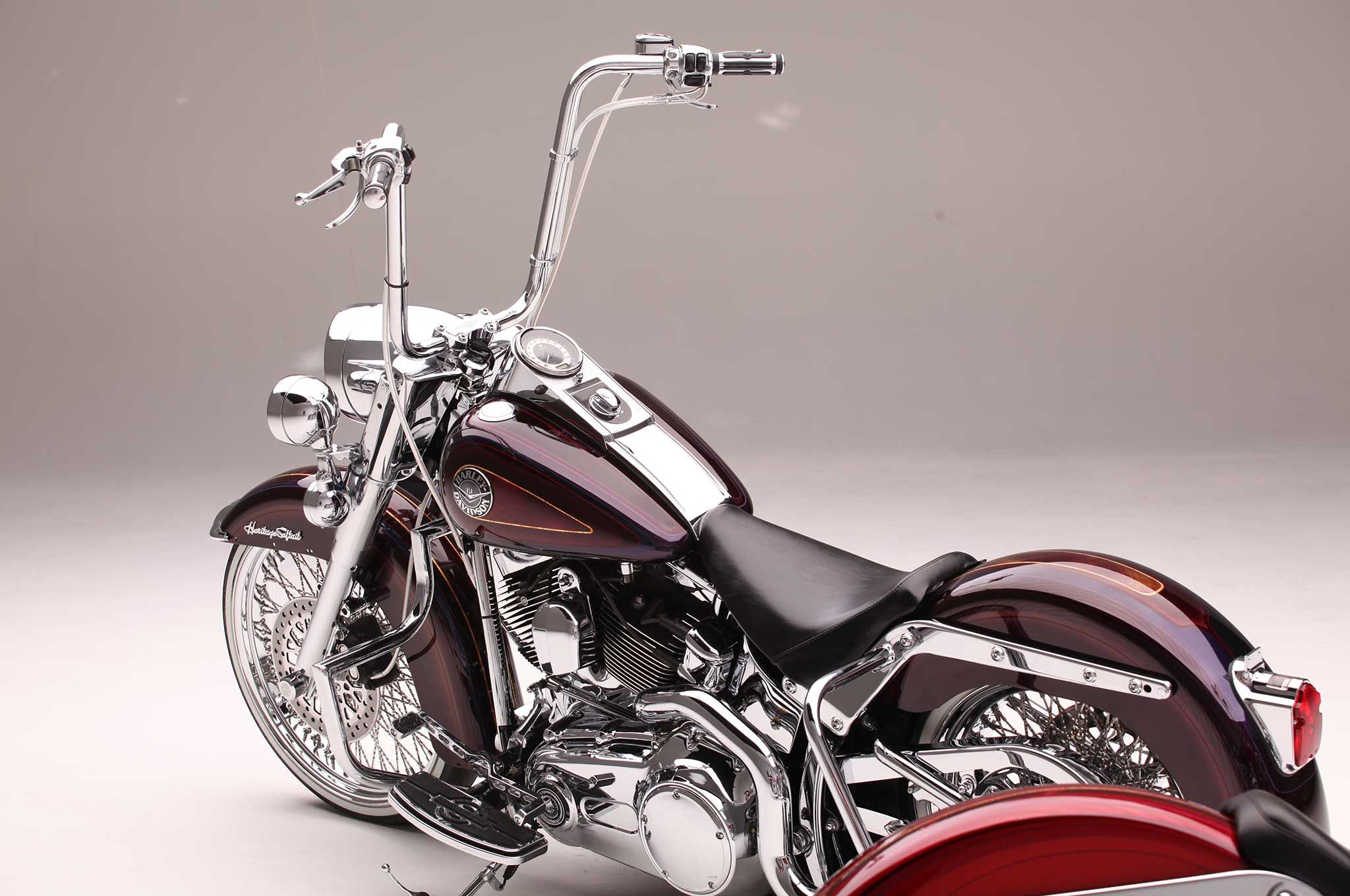 This 2000 Harley Davidson Heritage Softail And 2008 Softail Deluxe Are Two Examples Of The Fine Wo Harley Bikes Harley Davidson Bikes Custom Motorcycles Harley [ 1360 x 2048 Pixel ]