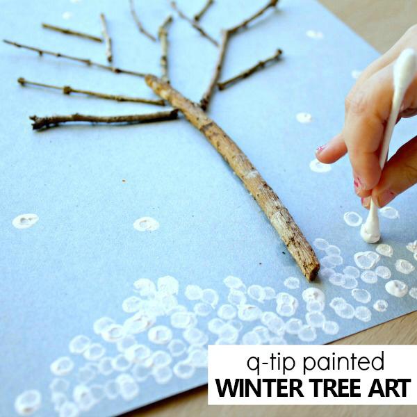 Winter Tree Art for Kids - Fantastic Fun & Learning