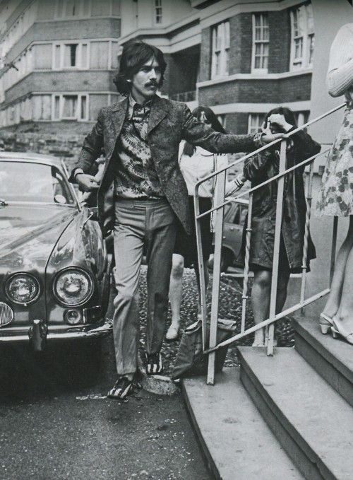George At Abbey Road Studios June 21st 1967 Those Shoes The Beatles George Harrison Beatles George