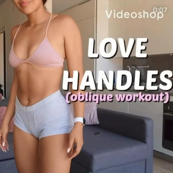 love handles at home workout by outgrowth