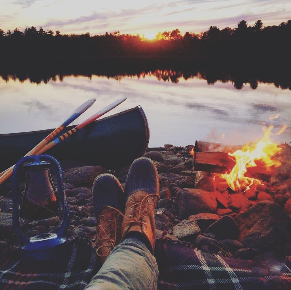 #fallcamping #timetoreflect #fall #camping #fire #autumn #lifeisgood #campfire