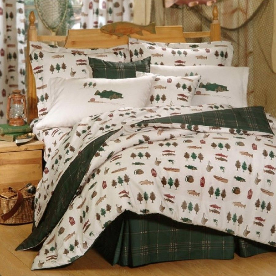 Blue Ridge Trading Fish Catch Bedding Collection Fish Catch