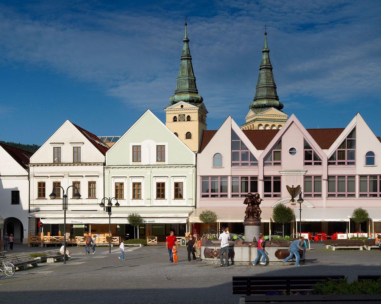 Žilina, Slovakia Slovakia, Landlocked country, Zilina