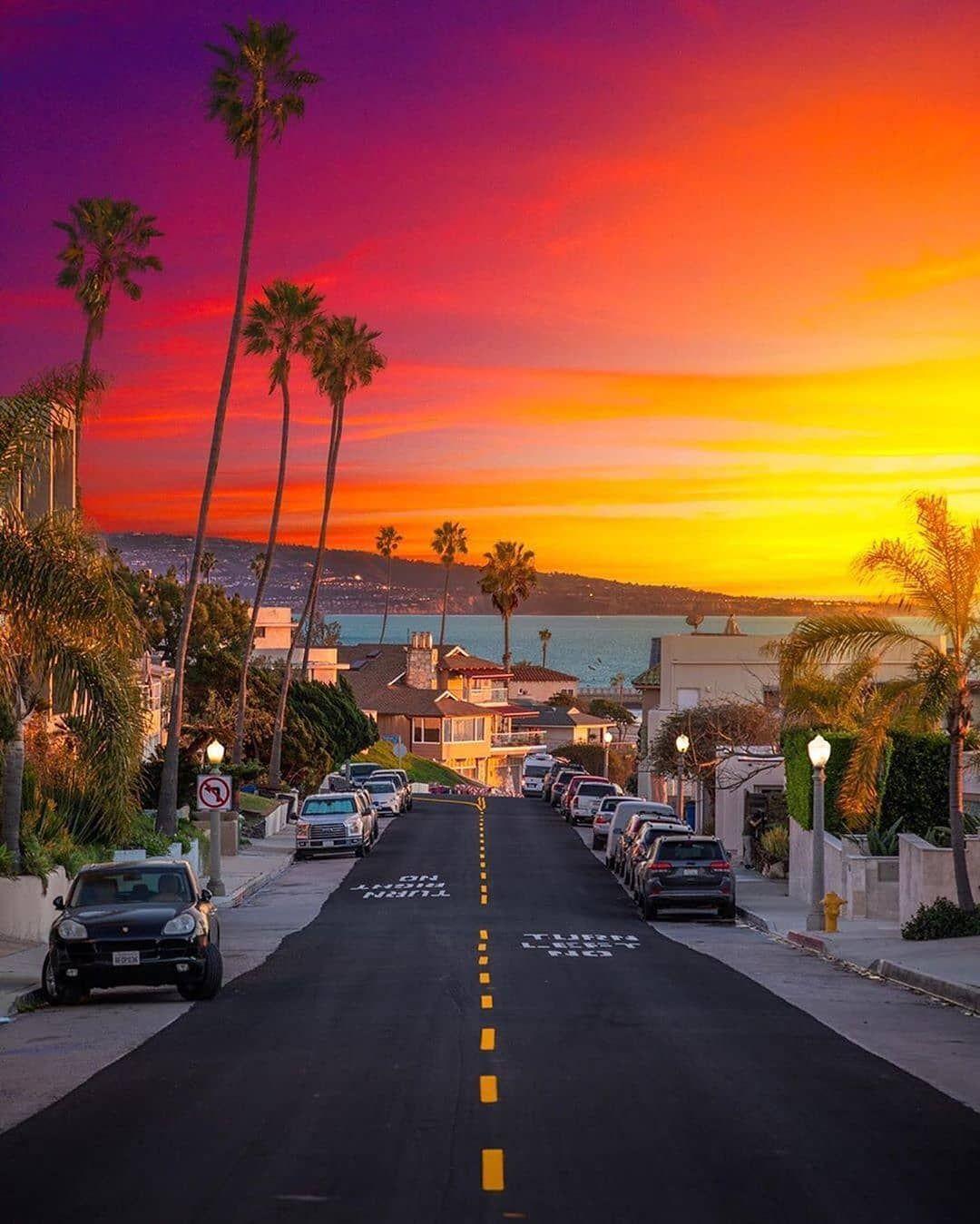 Gefallt 1 436 Mal 14 Kommentare Nature The World Naturedotnow Auf Instagram Sunset In Los Angele In 2020 Kalifornien Reise Sonnenuntergangsbilder Urlaub Reisen