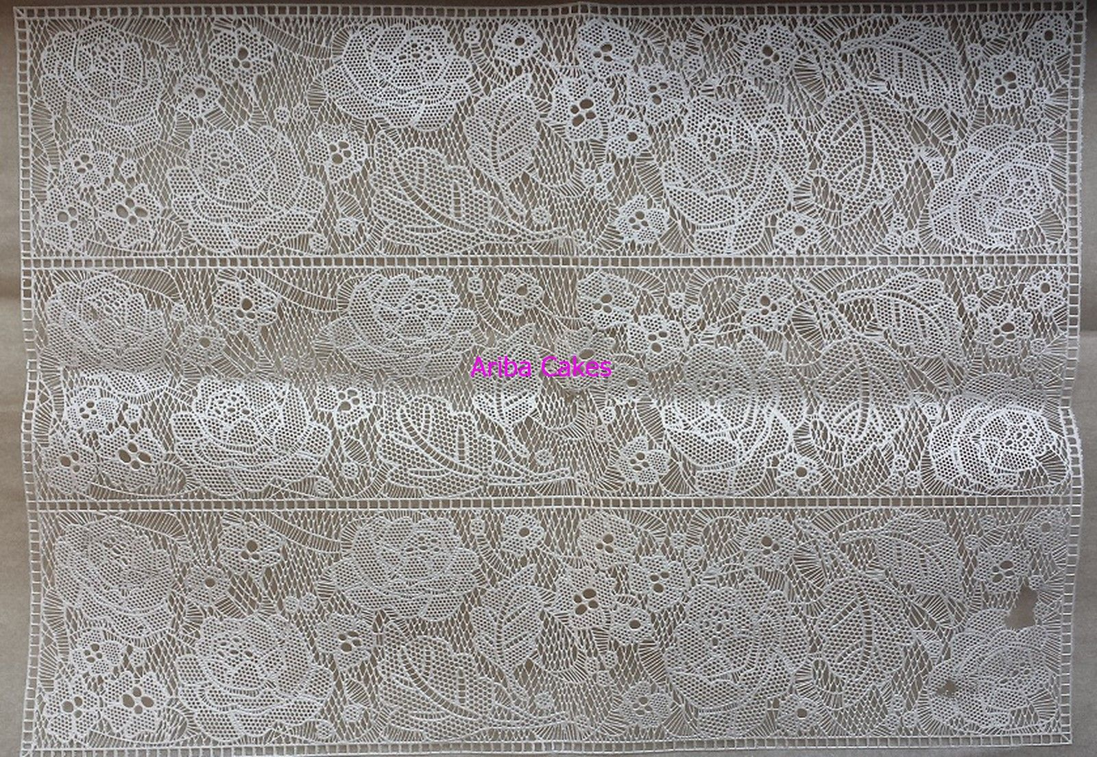 Rose Mantilla Mat By Sugarveil Pearlized Pre Mix By