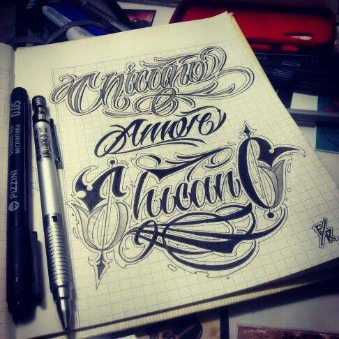Chicano Amor Chicano Lettering Frann Rock Pinterest