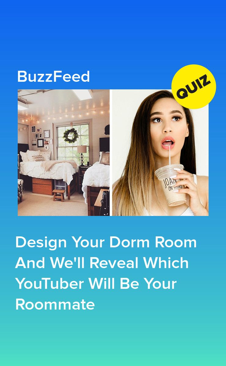 Decorate Your Dorm Room And We'll Tell You Which YouTuber To Share