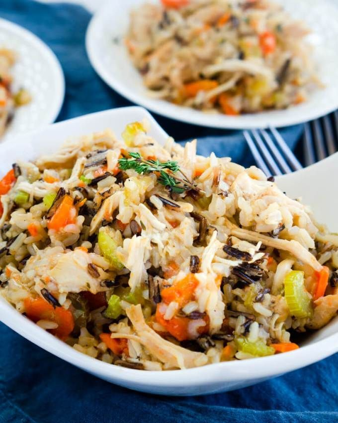 Easy Instant Pot Chicken And Rice Is Creamy And Full Of