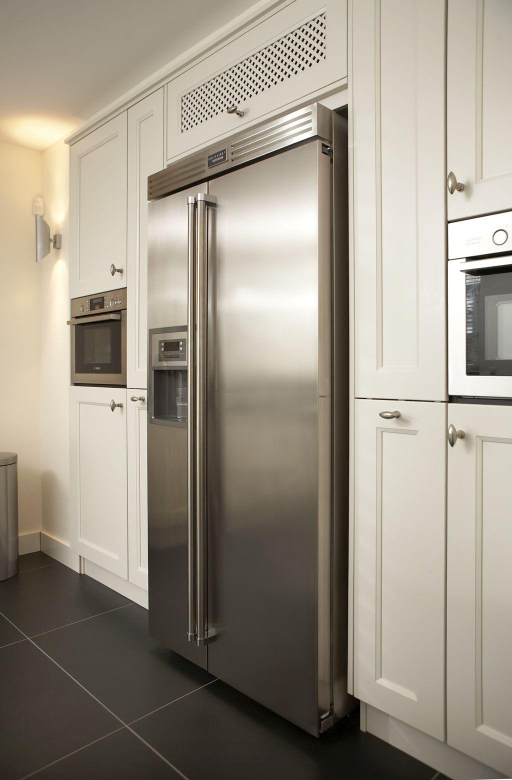 Afbeeldingsresultaat voor amerikaanse koelkast landelijke keukens keuken pinterest zoeken - Moderne amerikaanse keuken ...