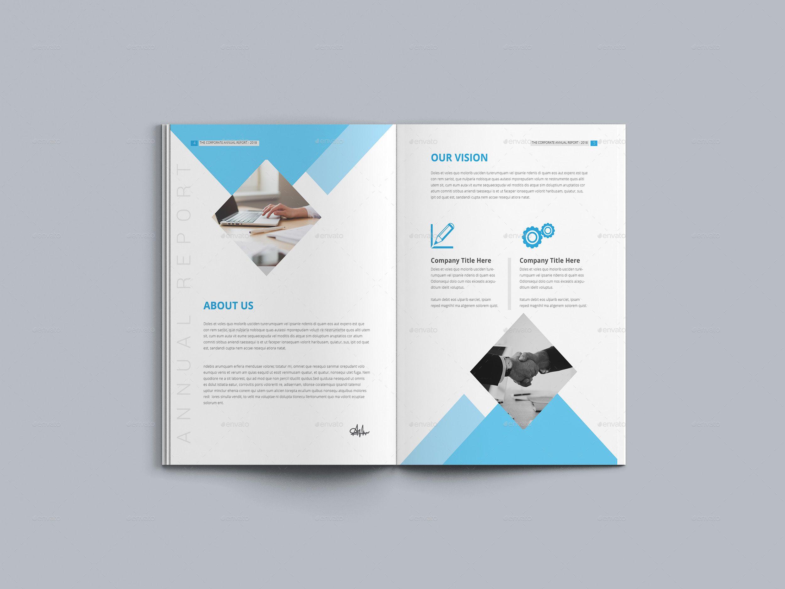 Annual Report Annual Report Templates Web Template