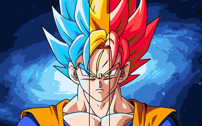 Download Wallpapers Goku 4k Fan Art Dragon Ball Super Manga Dbs Dragon Ball Super Saiyan Blue Super Saiyan Rose Golden Goku Besthqwallpapers Com Dragon Ball Painting Dragon Ball Super Wallpapers Anime Dragon