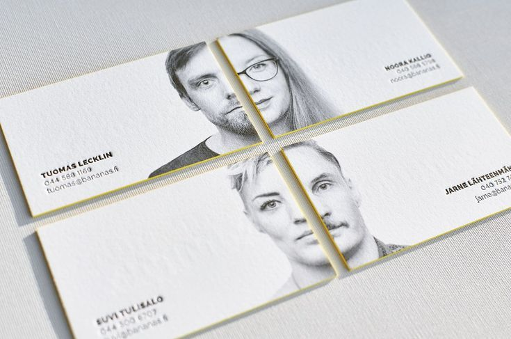 Portrait Business Card Design Cartao De Visita Design De Cartao Retrato