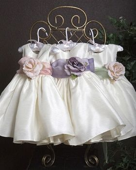 5de111654 Ivory Dupioni shantung Flower Girl Dress | Happily Ever After ...