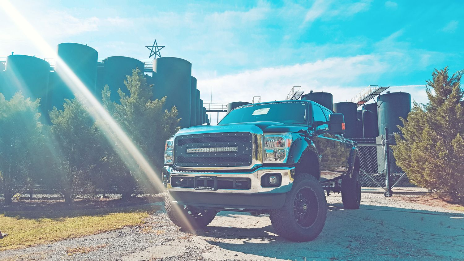 Take an in depth look at the flagship sca exclusive ford and black widow lifted trucks