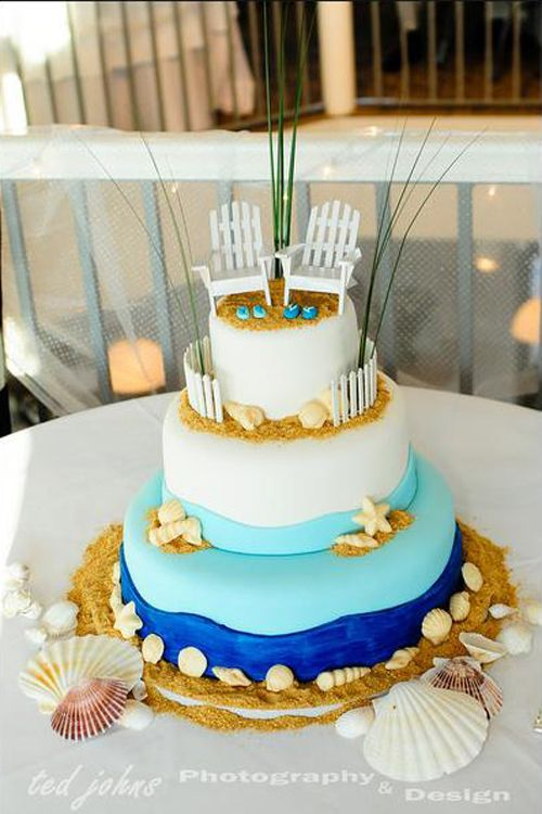 beach wedding cake sea cakes pinterest hochzeitskuchen hochzeitstorten und torten. Black Bedroom Furniture Sets. Home Design Ideas