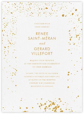 Modern wedding invitations online and paper Paperless Post inv