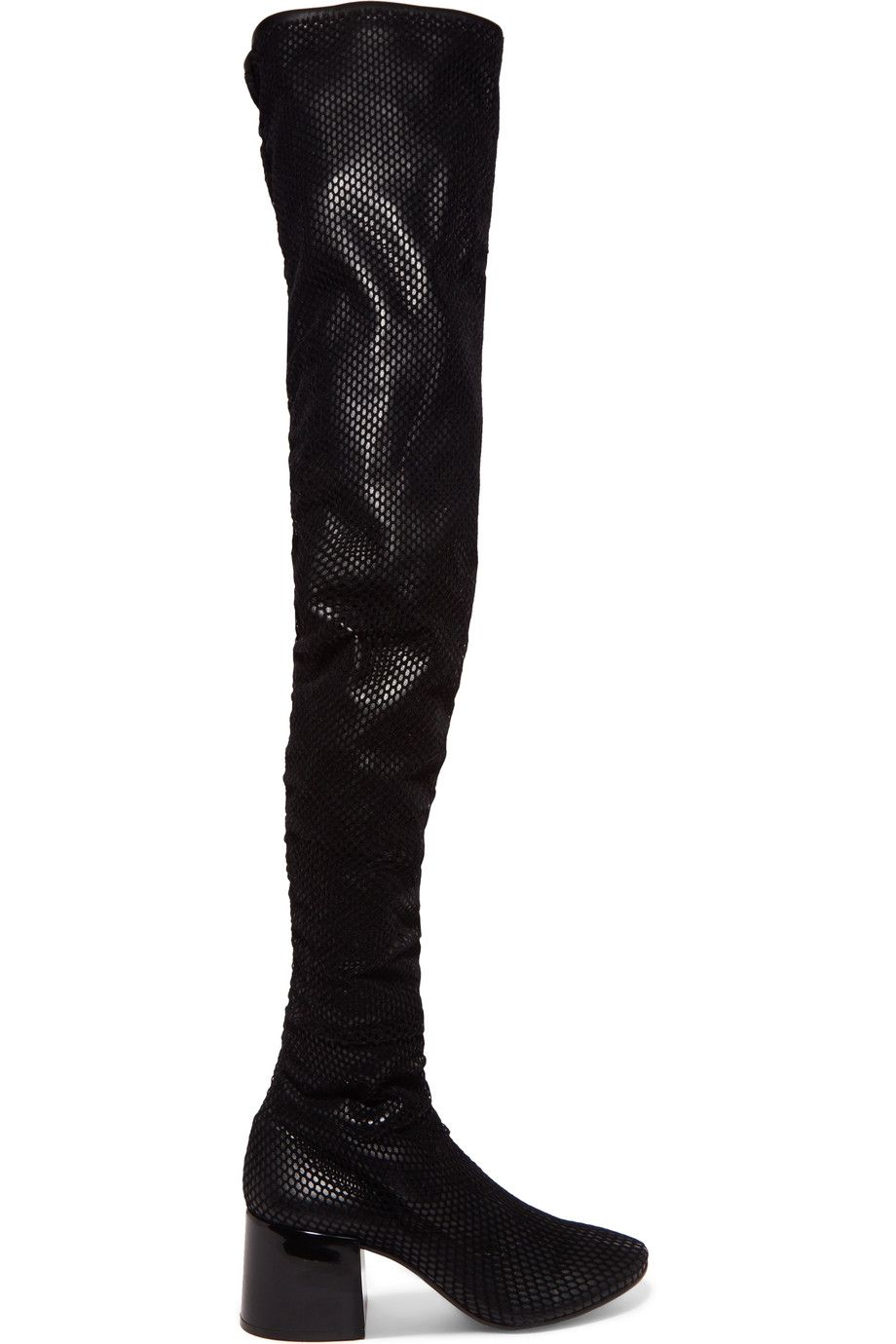 Maison Margiela Leather Thigh-High Boots w/ Tags sale 2015 new the cheapest outlet pay with paypal free shipping recommend buy cheap brand new unisex mVvScCf