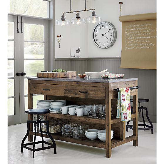 Atwell Pendant Light Home Kitchens Wood Kitchen Island Rustic Kitchen